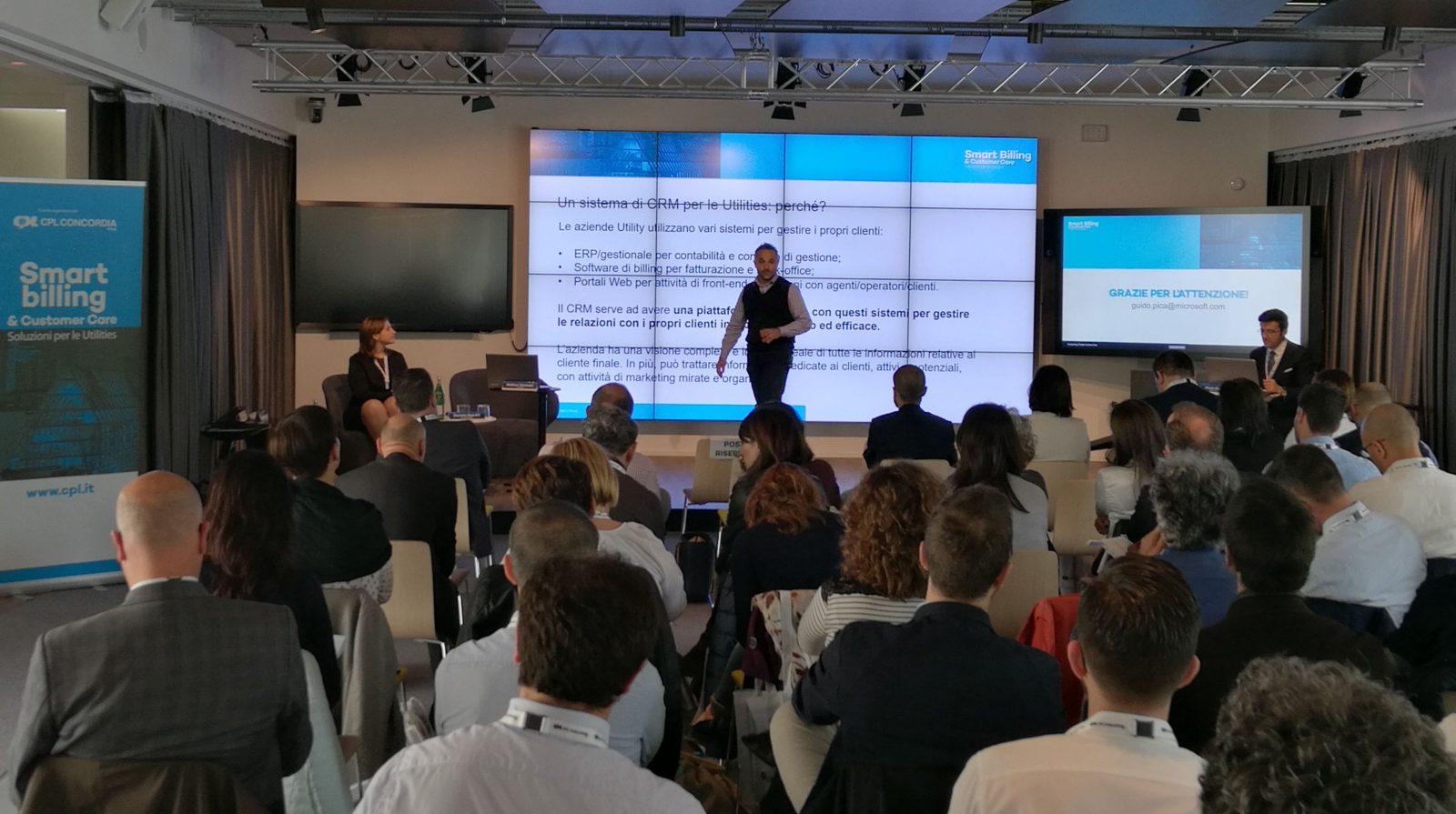 Matteo Veronesi di X DataNet spiega cme funziona il CRM per le Utility