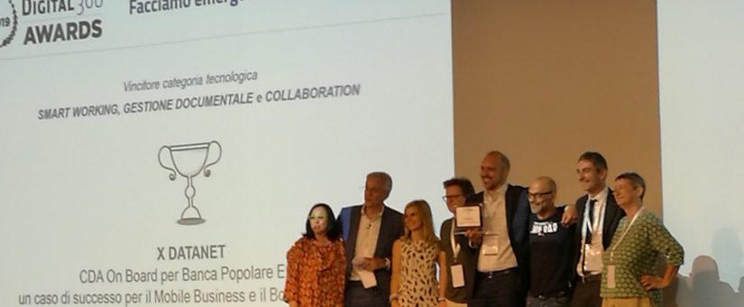 Digital 360 Awards: CDA ON BOARD ha vinto