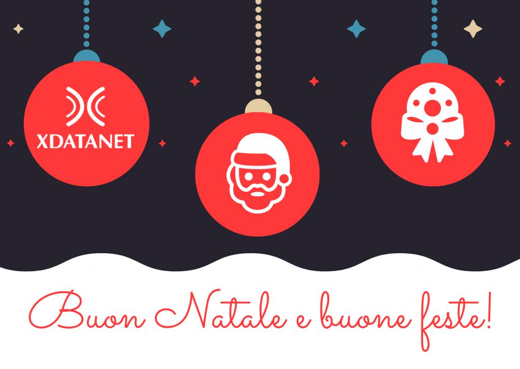 Tanti auguri di buon Natale e buone feste da X DataNet